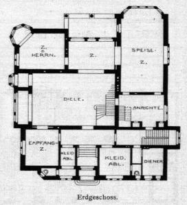Erdgeschoss Villa Noelle