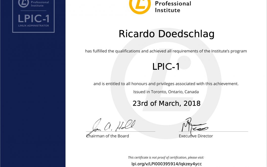 LPIC 1 Linux Administrator