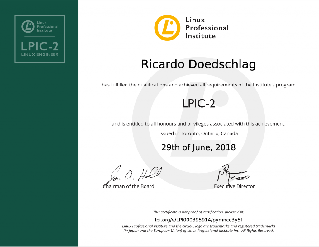 LPIC 2 Linux Engineer