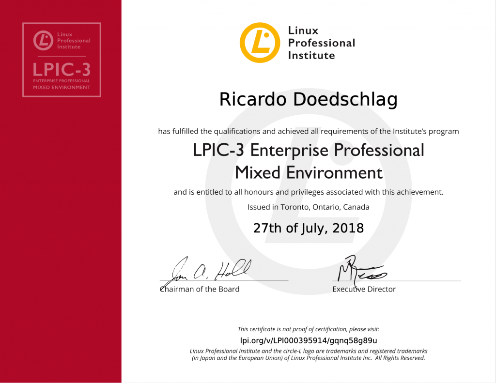 LPIC-3 300: Linux Enterprise Professional Mixed Environment