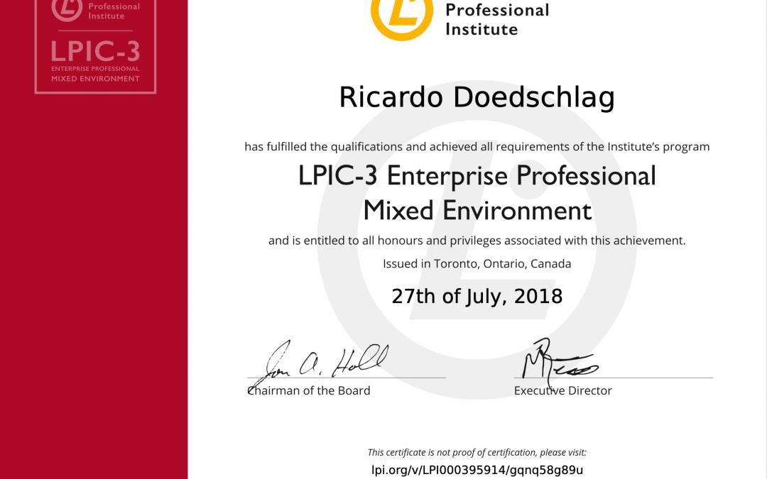 LPIC-3 300: Linux Enterprise Professional Mixed Environment