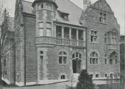Villa Noelle 1903 Ansicht Winkler Strasse